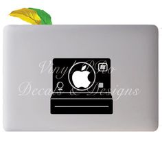 Polaroid Camera Photography Film Developer Snapshot Vintage Film Geekery Decal for Macbook
