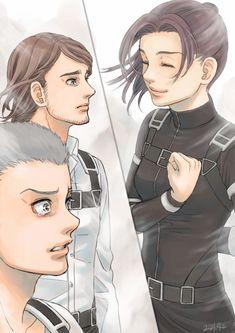 M Anime, Fanarts Anime, Anime Kawaii, Anime Guys, Anime Characters, Attack On Titan Funny, Attack On Titan Fanart, Image Manga, Levi Ackerman