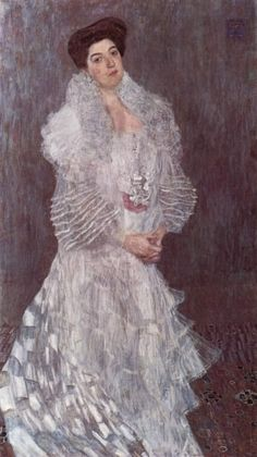 Gustav Klimt - Portrait of Hermine Gallia