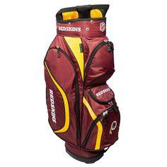 Team Golf Washington Redskins Clubhouse Golf Cart Bag, Multicolor