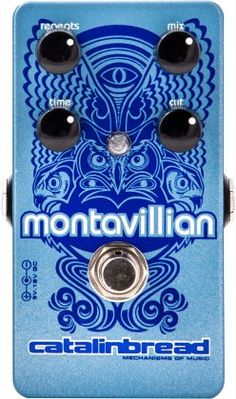 "Catalinbread Montavillian Ambient Echo Pedal: Kick on this pedal for smooth, fat repeats. Use the ""Cut"" knob to sweep a low-pass filter to achieve dark, bucket-brigade repeats and clear, chimey delays."