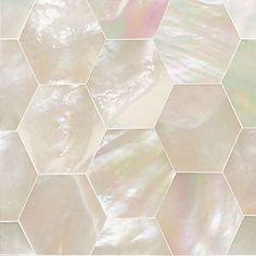 Daltile Ocean Jewels 2 Quot X 2 Quot Mother Of Pearl Herringbone