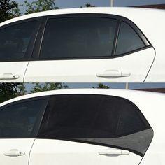 HYUNDAI TUCSON 2015-ON CAR SUN SHADES WINDOW DOOR SET OF 4 BC EASYSHADES UV