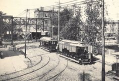the trolley...in Brooklyn...where the name Trolley Dodgers came from and then the name of the ball club