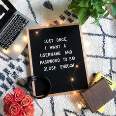 Totally in love with letter boards from The Letter Tribe. Most versatile home decor- letter board for inspirational quotes and motivational messages. Work Quotes, Sign Quotes, Cute Quotes, Great Quotes, Funny Quotes, Inspirational Quotes, Sign Sayings, Motivational Messages, Word Board