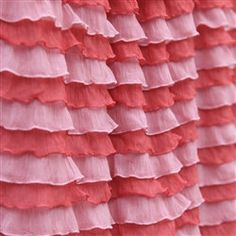 Hey, I found this really awesome Etsy listing at https://www.etsy.com/listing/163935961/sunset-coral-ruffle-straight-crib-skirt
