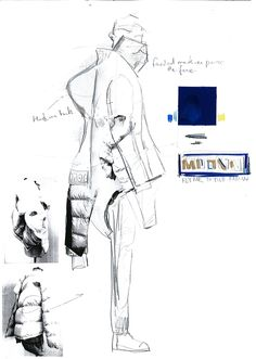 Fashion Sketchbook - fashion design development; fashion sketches; fashion portfolio // Johnson Deng