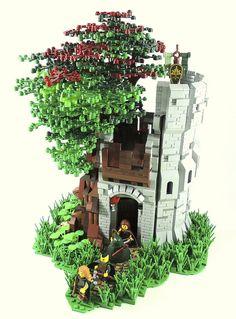 The Oak Fortress - Lego Scene -