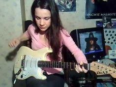 "Ritchie Blackmore (Deep Purple) - ""Lazy"", COVER by Eva Vergilova"