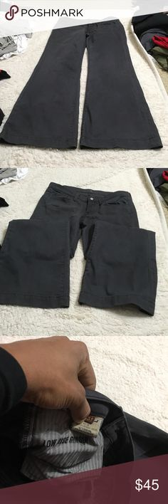 Seven for all mankind lowrise ginger Size 31 7 For All Mankind Jeans Flare & Wide Leg