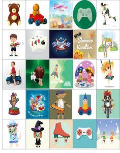 Free Printable-Fun Inspired Planner Sticker Sheet