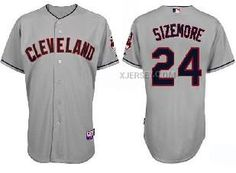 http://www.xjersey.com/indians-24-sizemore-grey-jerseys.html INDIANS 24 SIZEMORE GREY JERSEYS Only $34.00 , Free Shipping!
