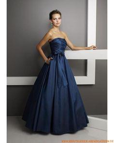 Elegantes Abendkleid aus Taft Ballkleid