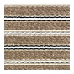 EKTORP JENNYLUND Armchair cover - Linghem light brown/stripe - IKEA