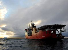 HMS PROTECTOR deployed to the Antarctic and South Atlantic.    Picture: LA(Phot) Arron Hoare