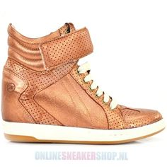 Bronx Shoes Wedge Brons - Lady's shoes - Onlinesneakershop.nl |     http://www.onlinesneakershop.nl/ladys-shoes-bronx-bronx-shoes-wedge-brons-p-2395.html