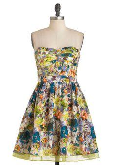 Painted Lady Dress, #ModCloth