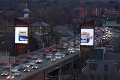 Warburton's half and half billboard campaign #creative #advertising