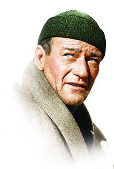 John Wayne in ''Island in the Sky'' 1953 - http://www.dunway.com/