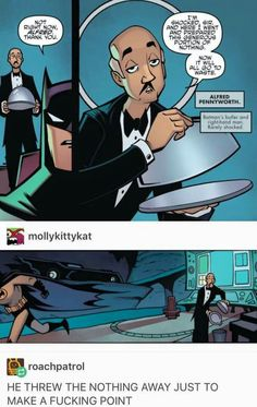 Alfred pennyworth the true best character in all of DC - Batman Funny - Funny Batman Meme - - Alfred pennyworth the true best character in all of DC The post Alfred pennyworth the true best character in all of DC appeared first on Gag Dad. Dc Memes, Funny Memes, Hilarious, Image Tumblr, Rasengan Vs Chidori, Nananana Batman, Im Batman, Funny Batman, Batman Humor