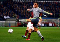 Champions League : Cristiano Ronaldo Breaks Roma Amount Of Resistance As Authentic Earn 2-0