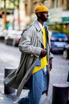 Paris Fashion Week Men's Street Style Fall 2018 Day 1 - The Impression