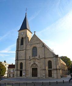 Église Saint-Étienne .Issy-les-Moulineaux.Île-deFrance