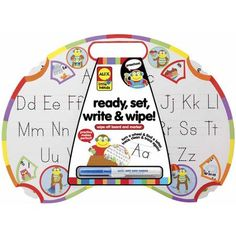 ALEX Toys Early Learning Learn To Write