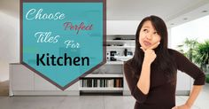 While choosing tiles for your #kitchen, the main thing to be considered is the place where it will be applied and which type of #tiles ideal for your kitchen and your budget. Here are some important #tips which help to choosing the perfect tiles for kitchen.