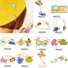 열매 1 개 일본어 스타일 남성 여성 귀여운 합금 브로치 핀 가방 모자 장갑 스카프 장식 옷깃 핀