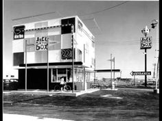 Jack in the Box Drive-In 1960s & 70s