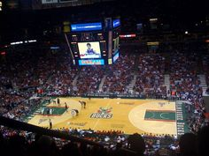 The Bradley Center - Milwaukee, WI (Milwaukee Bucks) Milwaukee Attractions, Local Attractions, Wonderful Places, Great Places, Places Ive Been, Stadium Tour, Milwaukee Bucks, Travel And Leisure, Temples