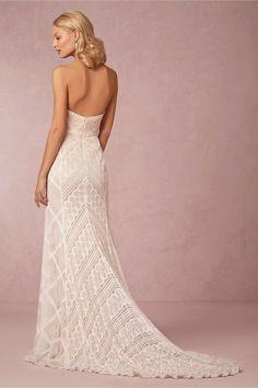 Gigi Gown in Bride Wedding Dresses at BHLDN
