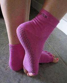 ToeSox - prevent slipping on yoga mats. Genius!