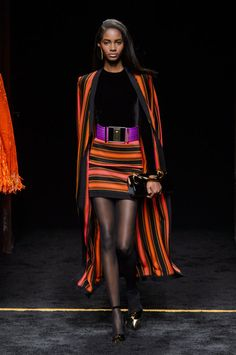 A look from Balmain's fall 2015 collection. Photo: Imaxtree