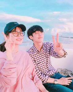 Kim Yoo Jung And B1A4's Jinyoung Enjoy A Well-Deserved Break By The Sea   Soompi