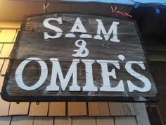 OBX Eats: Sam and Omie's in Nags Head, North Carolina - A favorite among Outer Banks locals for over 70 years.