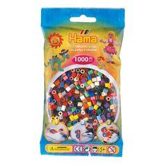 Hama Strijkkralenmix 3, 1000st.  Afmeting:23 x 15 x 9 cm - Hama Strijkkralenmix 3, 1000st.