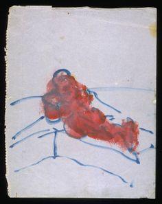 Francis Bacon, 'Figure Lying, No. 1' c.1957-61