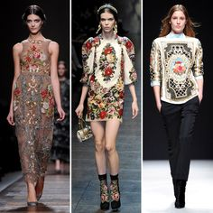 Tapestry and Needlepoint Trend Fall 2012 | POPSUGAR Fashion