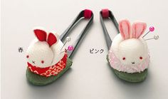 Crepe crafted rabbit Hariyama