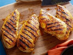 To make Delicioso Adobo Grilled Chicken, season juicy chicken breasts with homemade adobo, made using pepper, ground cumin, achiote powder and a few other ingredients.