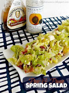 Pear and Pecan Spring Salad (she: Jana) READY