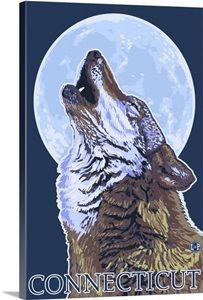 static.greatbigcanvas.com images singlecanvas_thick_none lantern-press connecticut-howling-wolf-retro-travel-poster,2176254.jpg?max=300