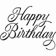 Happy Birthday – Birthday Presents Happy Birthday 手書き, Happy Birthday In Cursive, Happy Birthday Hand Lettering, Happy Birthday Writing, Happy Birthday Calligraphy, Happy Birthday Cards Handmade, Birthday Prayer, Happy Birthday Printable, Birthday Text