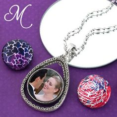 We offer a great selection of magnetic interchangeable jewelry. Add photos and customize your jewelry and your career. Magnabilities custom jewelry opens doors to endless possibilities.