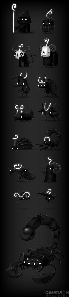 创意策略游戏-暗夜之光2(Darklin...@┭殤Φ城采集到有趣的东西(19图)_花瓣