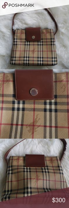 Burberry vintage check shoulder bag Burberry Authentic Vintage Nova Check  tote shoulder bag in excellent condition. - Serial   - Selling for a friend. 7c5cd03317bac