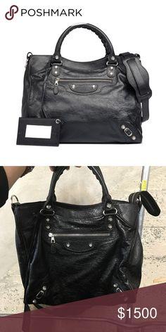 3e0f50278b1 Balenciaga 12 Velo AJ Bag Was given this as a gift Through Elyse Walker,  literally