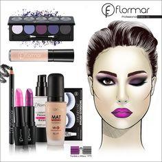 ¿Te atreves a un maquillaje lila para esta noche? Serás el centro de atención